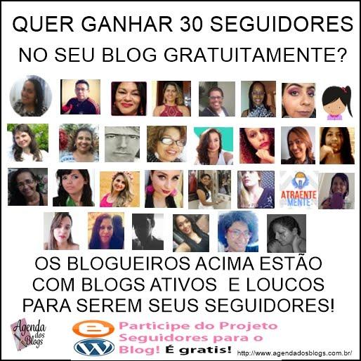 Projeto Ganhe seguidores para se blog.