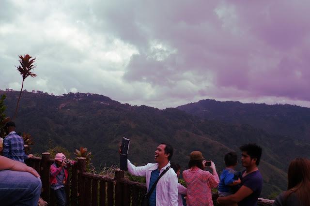 that super happy tourist in Baguio