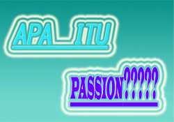 apa itu passion