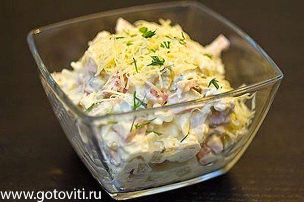 Готовим салат русская красавица