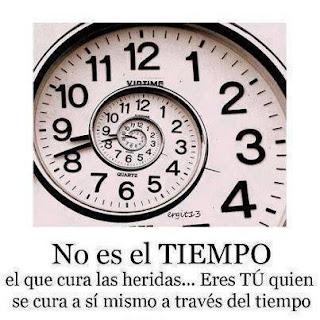 Imagen No Es El Tiempo Que Curan Las Heridas (Imagenes para Facebook)