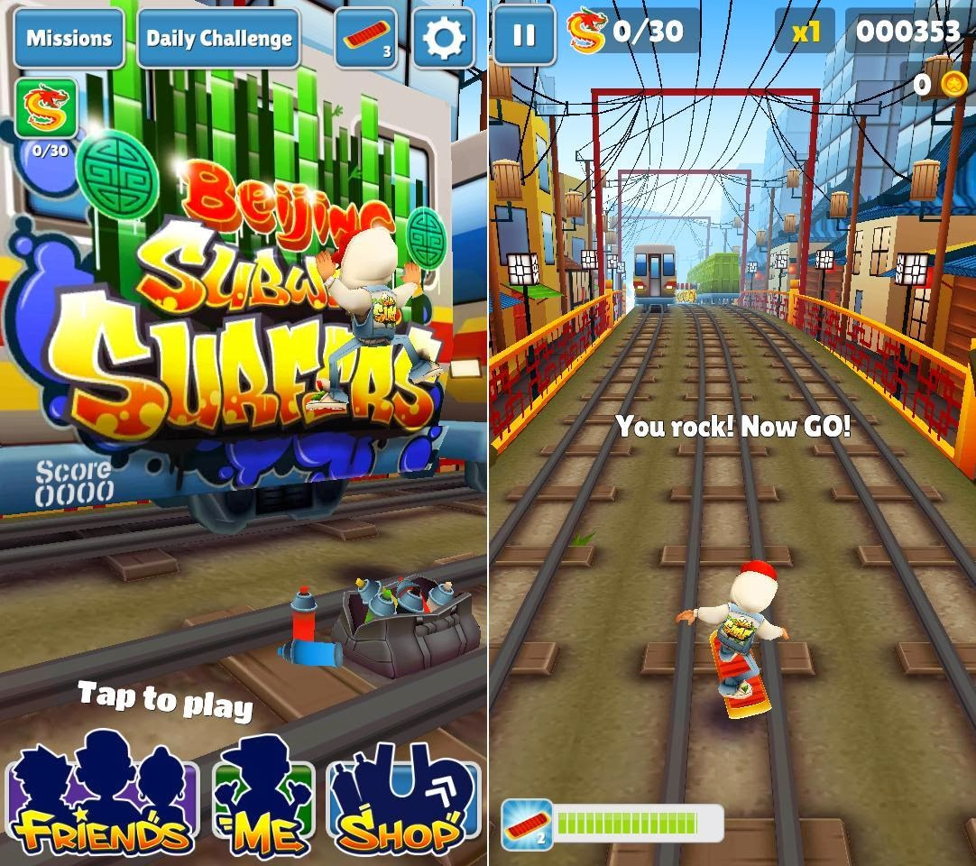 DTC Mobile GT17 Jupiter Subway Surfers