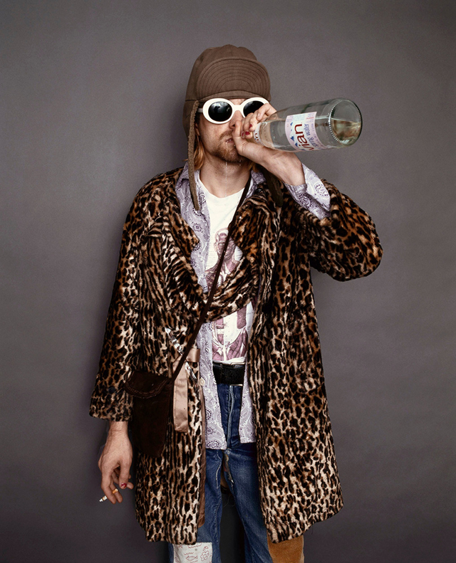 The Last Photo Shoot Of Kurt Cobain 1993 Vintage Everyday