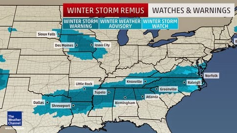 Winter Storm Remus