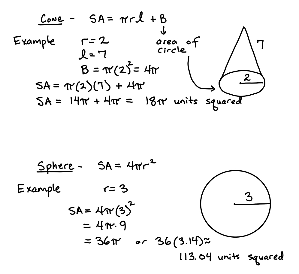 Daily Objective: Students Will Learn The Surface Area Formulas For A  Pyramid, Cylinder, Finding Radius Of A Circle Calculator