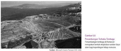 Potensi Mineral di Amerika Utara 1