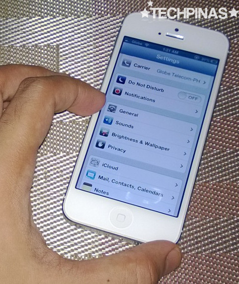 iPhone5 iOS7, Upgrade iPhone5 to iOS7