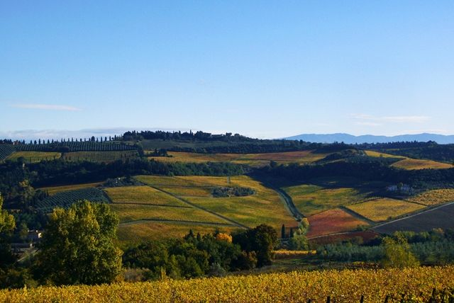 Otoño-Toscana-Italia