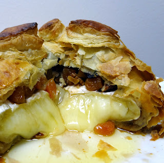 Miss Mochi's Adventures: Rosemary Apricot and Pecan Brie En Croute