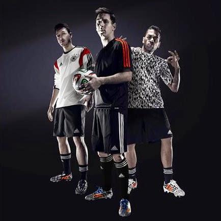 Adidas Battle Pack colección de botas de fútbol para la Copa Mundial Brasil 2014