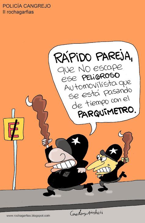 Orizaba: policía cangrejo.