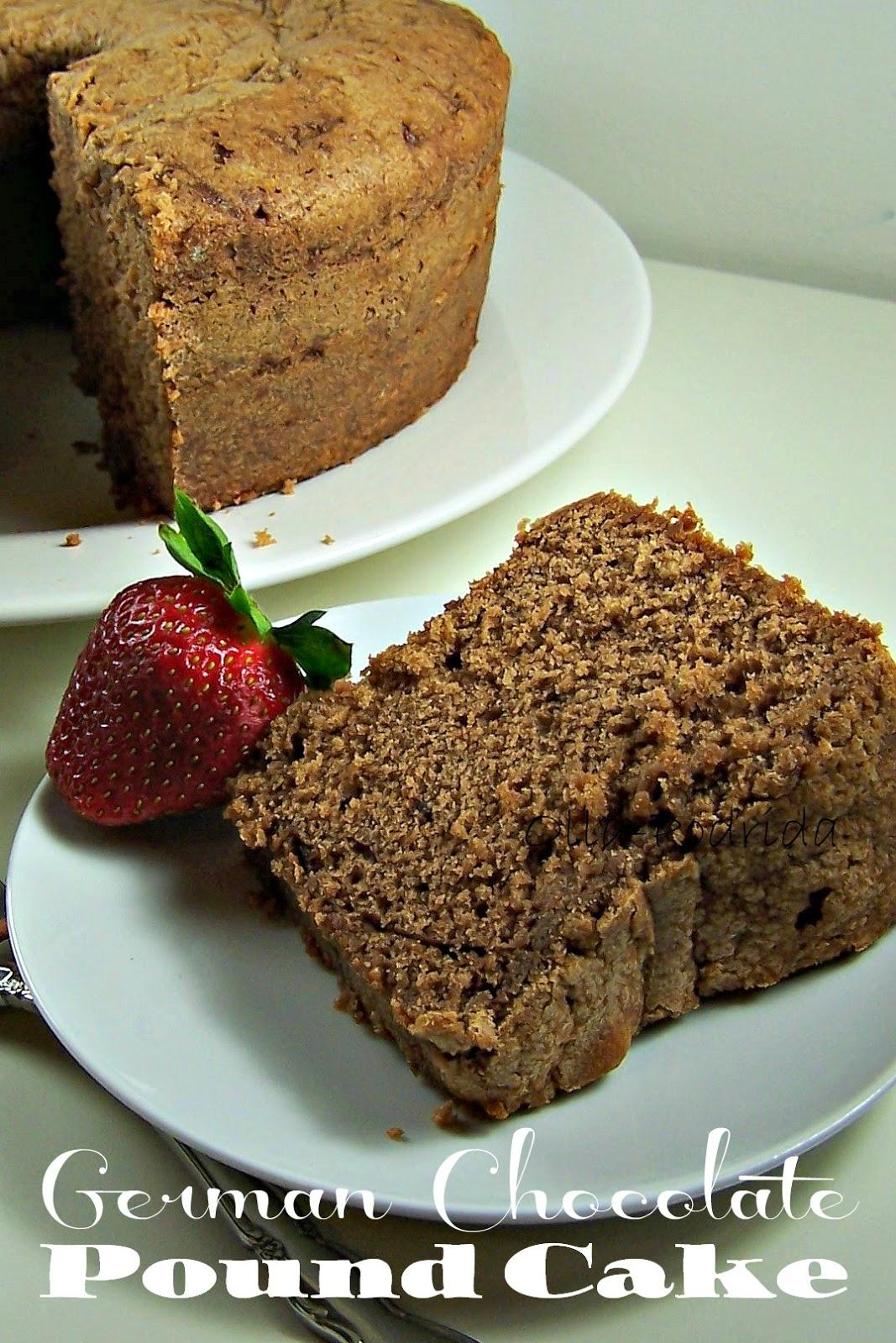 Olla Podrida German Chocolate Pound Cake