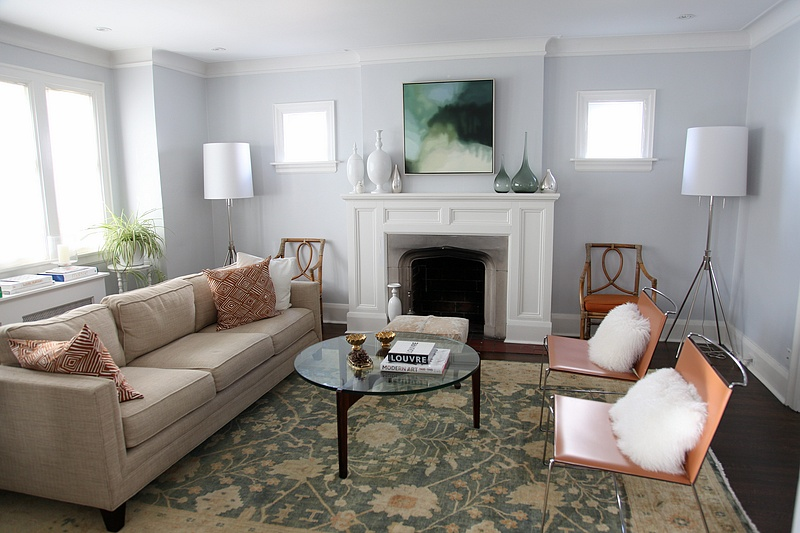8footsix house tour before after for S carey living room tour