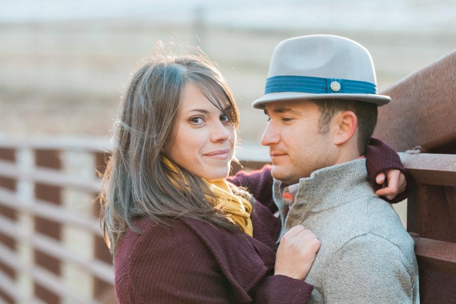 Katie + Dom's Winter Engagement Photo Adventure by Boone Photographer Wayfaring Wanderer