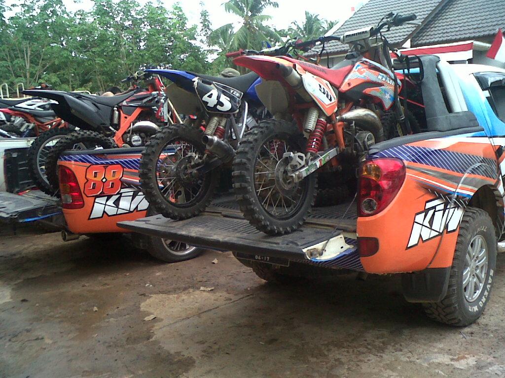 Stock Photo Jos Motor Cross Indonesia