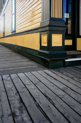 Boardwalk in Skagway, Alaska