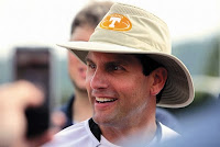 Derek Dooley is a morning person, and expects his players to be as well.