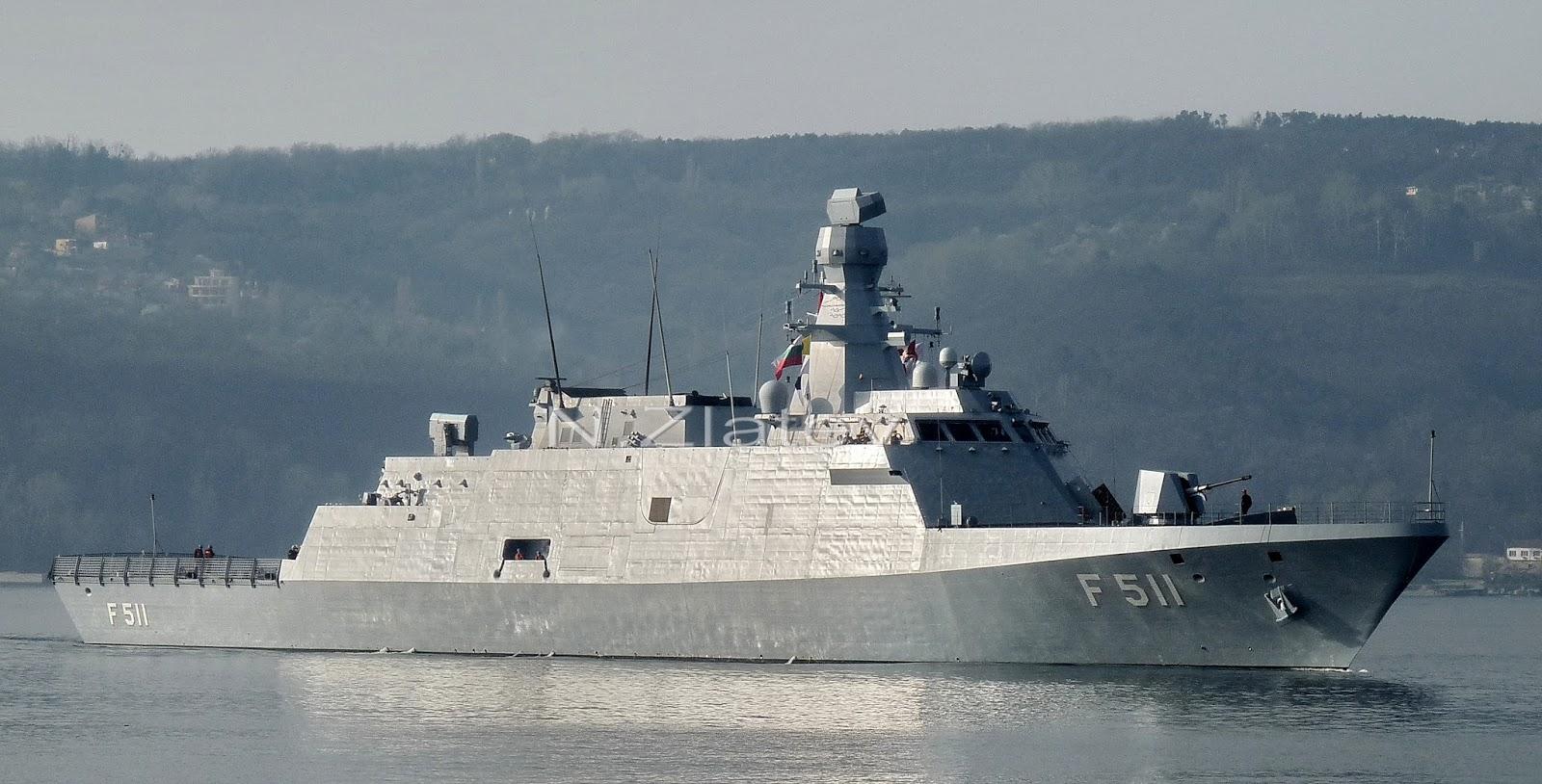 Naval Analyses Ada Class Corvettes Of The Turkish Navy