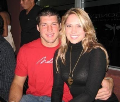 Tebow Girlfriend Pictures