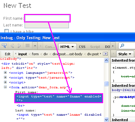 Webdriver Css Selector Example