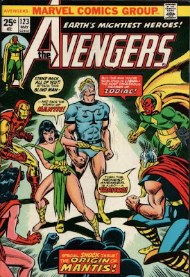 Avengers #123, Mantis, Libra and the Celestial Madonna