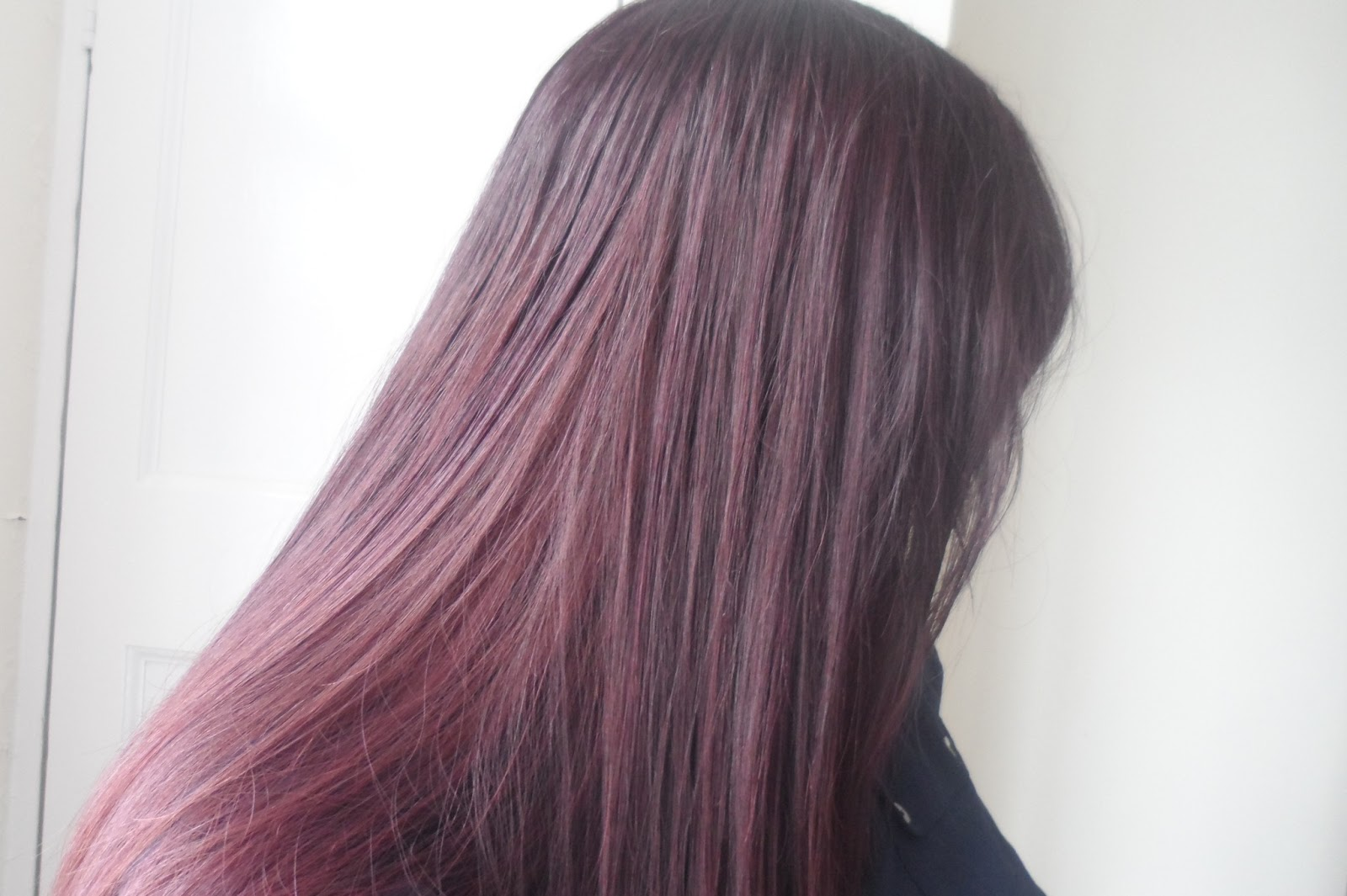 Ribena Coloured Hair With Loreal Casting Creme Gloss In 316 Plum
