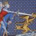 """Alexander der Große im Manuskript """"Vincent de Beauvais-Miroir Historial"""" - 14 Jhdt"""
