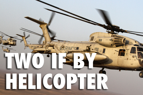 Two if by Helicopter - Lubbock v. Obama's UN in all out civil war cage match