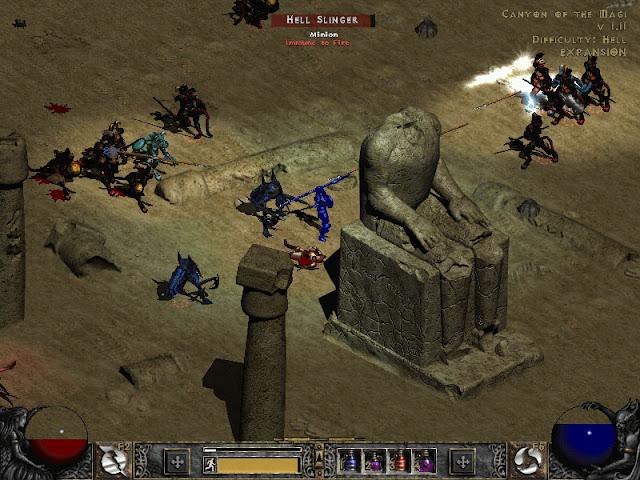 Дом Восходящего Солнца: MMO: Diablo, как известно, в мелочах