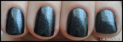 pupa 800 nail polish navy blue shimmer