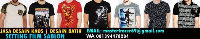 jasa desain kaos - desain baju batik - setting film sablon -------  kontak WA 081394478284