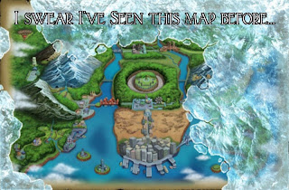 Pokemon Black 2 Map