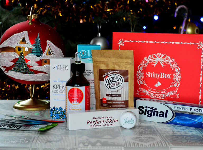 ShinyBox Where The Magic Happens grudzień 2015 - beautybox