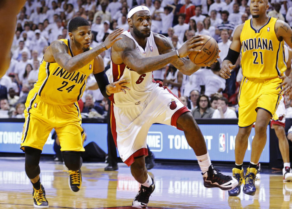 ebcf0ceaa54d NWK to MIA  A Little Late But Still Great LeBron James Wins Game 1 In Nike  LeBron X PS Elite PE