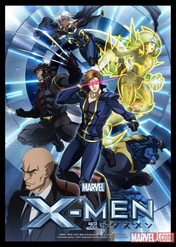X-Men The Anime (Covers)  X-Men-Anime-Poster