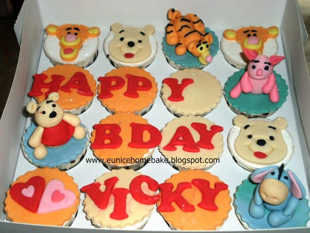Eunice Home Bake Klang Happy Birthday to Vicky