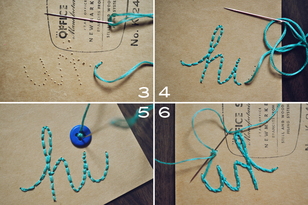 Oh You Crafty Gal How To Hand Stich Or Cross Stich
