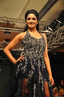 Actress Vimala Raman  Pictures at Kingfisher Ultra Hyderabad International Fashion Week 2014 Ramp walk   010