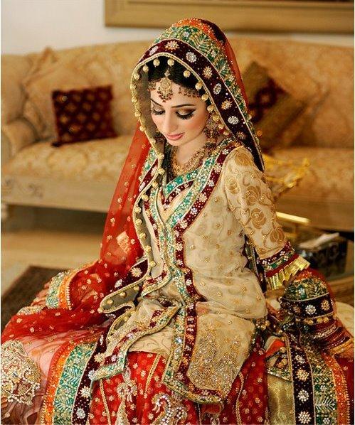 Pakistani bridal dresses traditional designs fashion for Pakistani wedding traditions