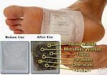 Foot Detox Patch-Buang Toksin Dalam Badan