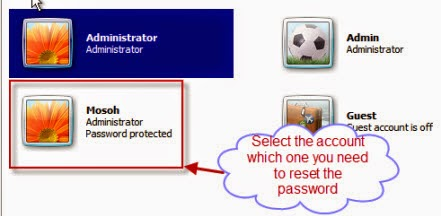 how to change password for windows 7