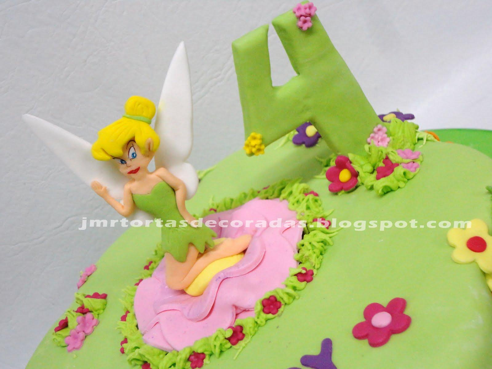 Torta Campanita Tinkerbell | JMR Tortas Decoradas