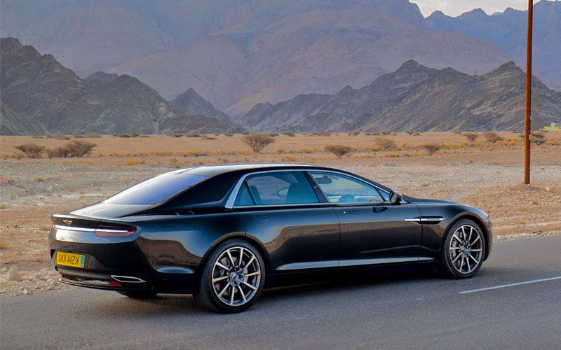 2016 Aston Martin Lagonda News