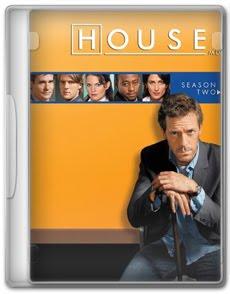 Dr. House 2ª Temporada Completa DVDRip RMVB Dublado