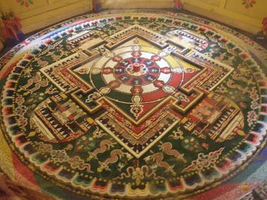 Tibet inside. Mandala