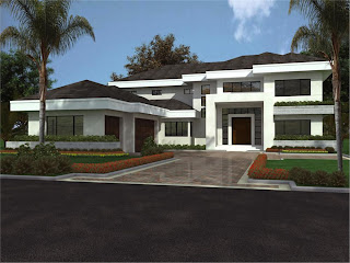 Contemporary Home Design on Home Improvement  Modern House Plans 3d Decoration Inspiration For