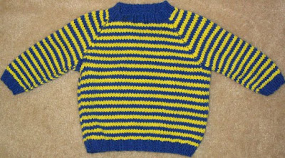 Baby Raglan Sweater Pattern