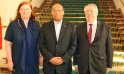 Moncef Marzouki demande à la Belgique d'annuler les dettes