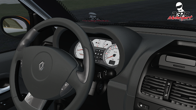 interior del coche clio