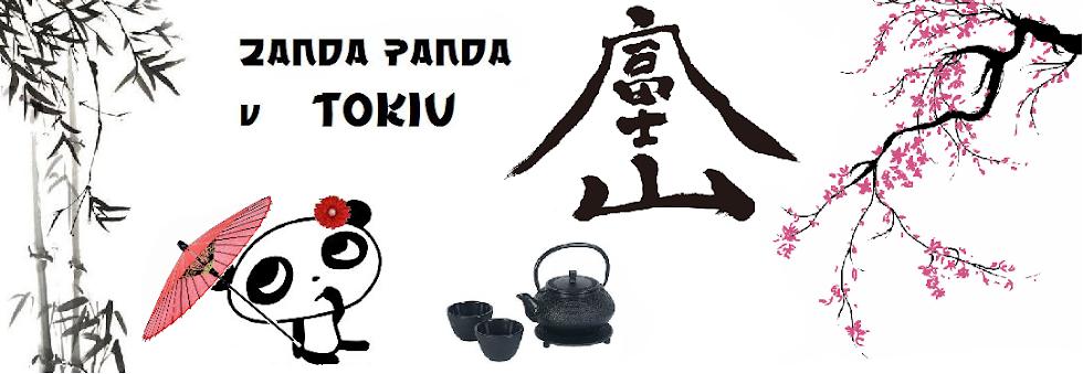 Žanda panda v Tokiu